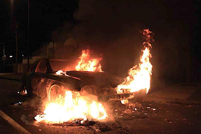expertise incendie vehicule